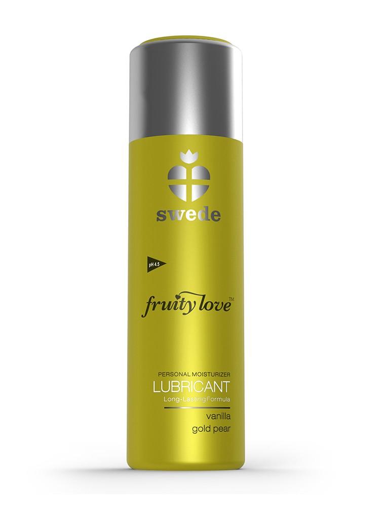 Swede Gleitgel: Fruity Love Vanilla Gold Pear (100ml)