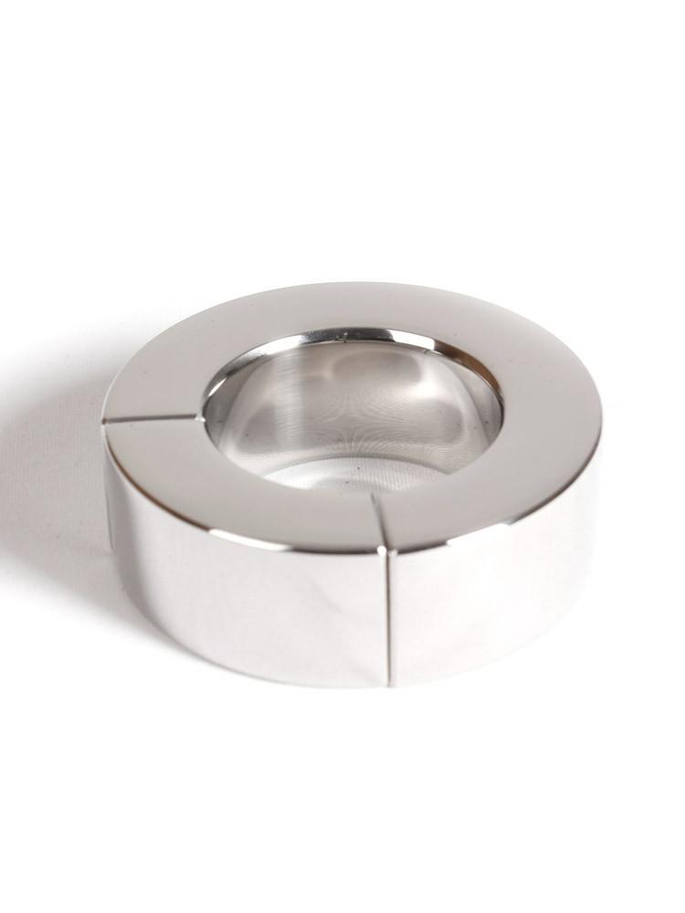 Magnetic Ballstretcher: Edelstahl-Hodenstretcher (35mm)