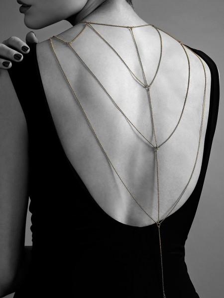 Bijoux Indiscrets The Magnifique: Körperkette, gold