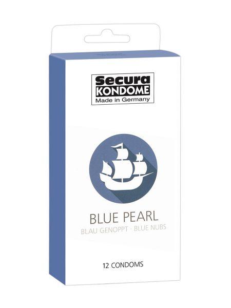 Secura Blue Pearl: Kondome, 12er Pack