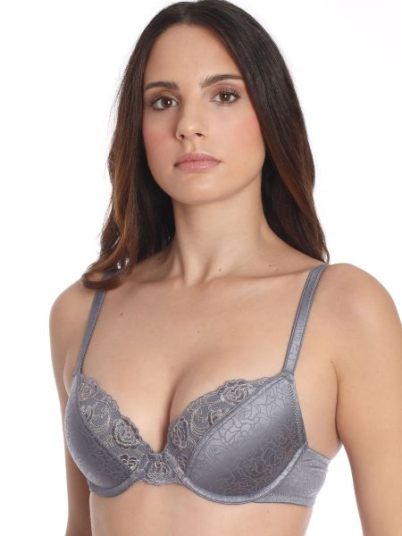 Sassa Puristic Rose: Push-Up BH, dusty grey