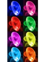 Oxballs Glowhole Buttplug LED insert: LED Tunnelplug , transparent