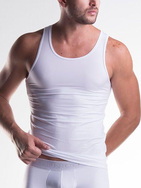 Unico Clasicos Micro: Sportshirt, weiß