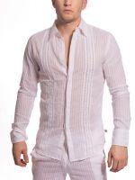 L'Homme Barbados: Hemd, weiß
