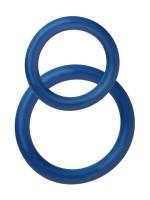 POTENZduo S: Penisringe-Set, blau