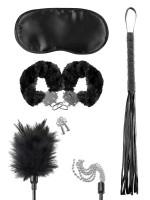 Fetish Fantasy Bondage Teaser Kit: Toy-Set, schwarz/silber