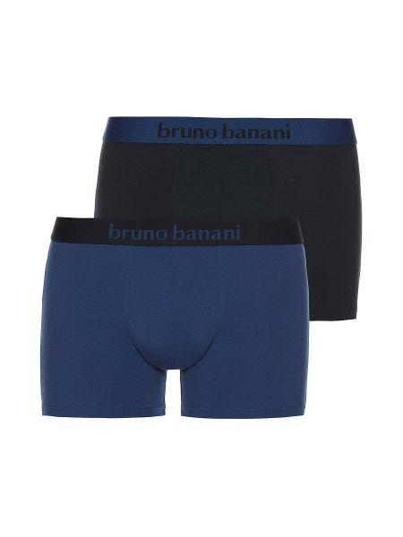 Bruno Banani Flowing: Short 2er Pack, denim/graphit