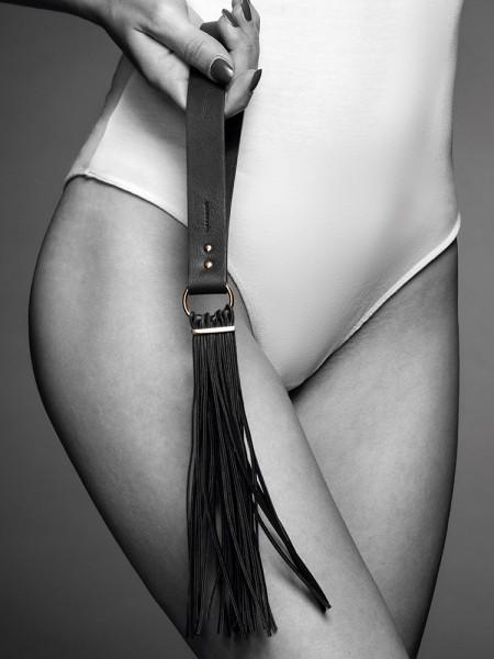 Bijoux Indiscrets Maze: Flogger, schwarz