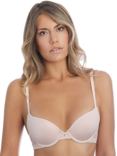 Sassa Puristic Fan: Push-Up BH, nude