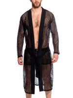 L'Homme Desire: Kimono, schwarz