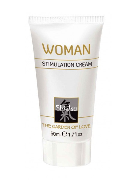 Shiatsu Stimulation Cream Woman (50ml)