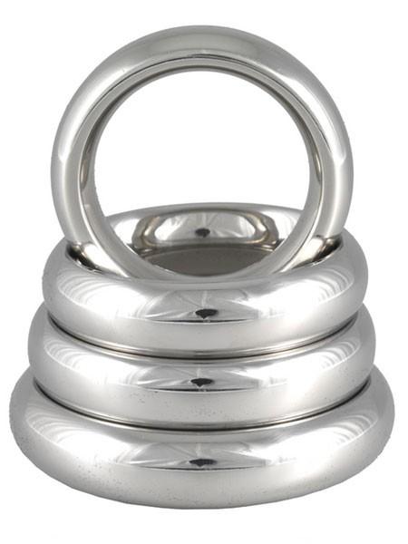 Edelstahl-Penisring: Donut, 15mm breit
