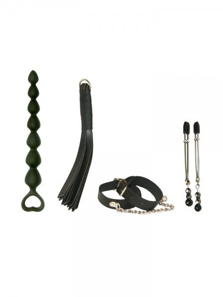 The Secretly Kinky Kit: Toy-Set, schwarz