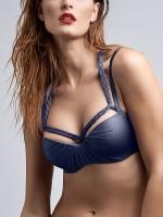 Marlies Dekkers Holi Glamour: Padded Balcony Bikini Top, navy