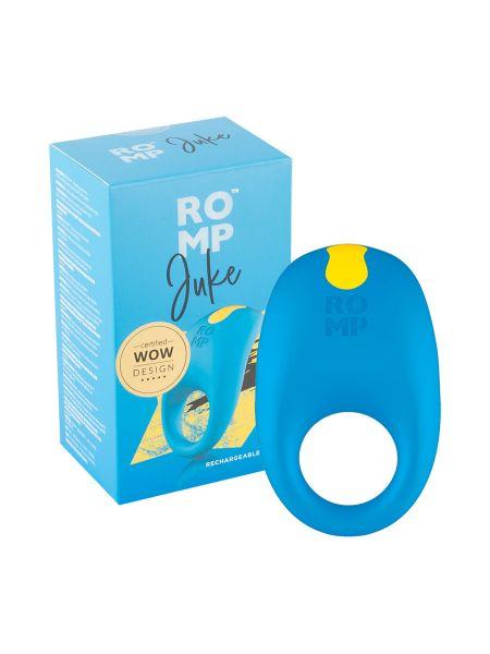 ROMP Juke: Vibro-Penisring, blau/gelb