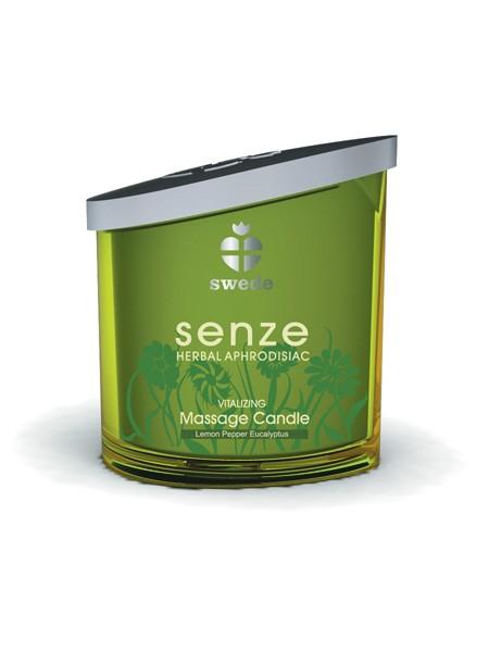 Massagekerze: Senze Vitalizing, Lemon Pepper Eucalyptus (150ml)