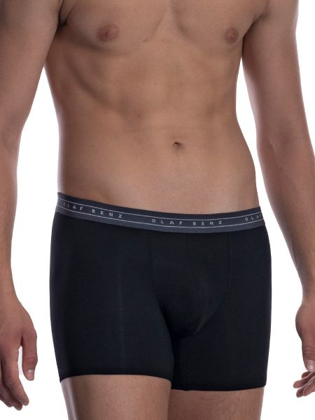 Olaf Benz RED2059: Boxerpant, schwarz