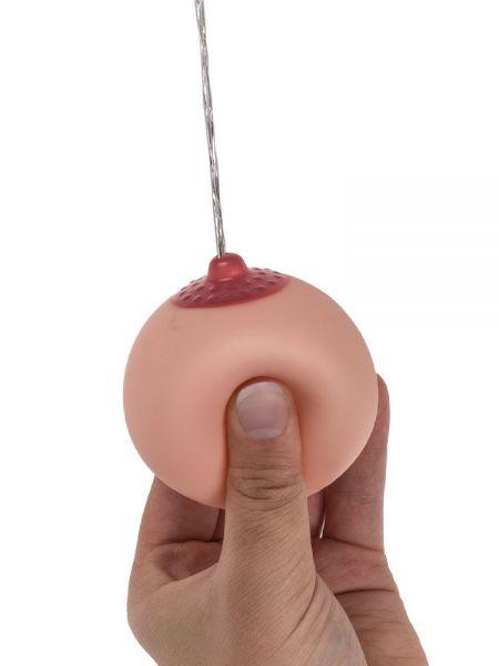 Spritzball: Brust, haut