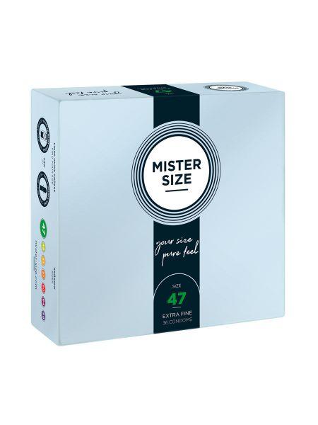 Mister Size: Passgenaue Kondome, 36er Pack