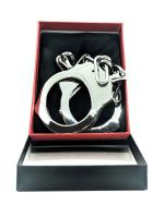 Black Label Stainless Steel Police Handcuffs: Edelstahl-Handschellen