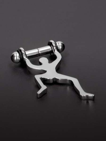 Triune Climbing Man Magnetic Nipple Pinchers: Edelstahl-Magnet-Nippelclips
