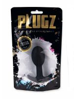 FeelzToys Plugz Black Nr. 3: Analplug, schwarz