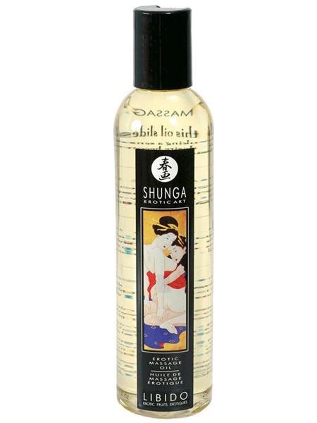 Shunga Massageöl: Libido Exotische Früchte (250ml)