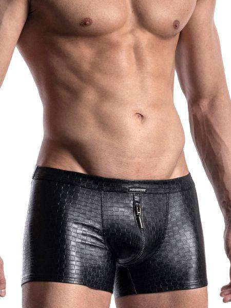 MANSTORE M956: Zipped Boxer, schwarz