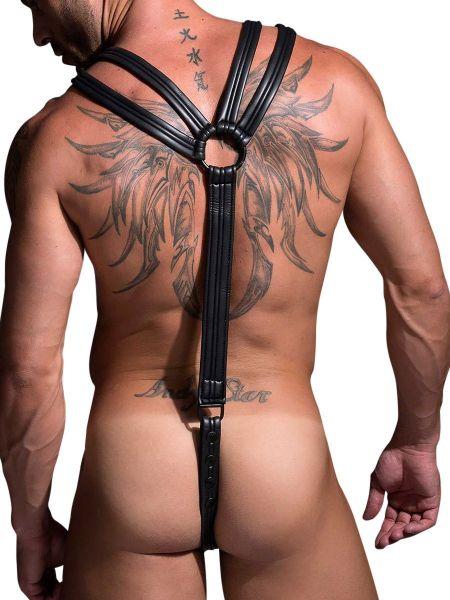 Neoprene Predator: Körper-Harness, schwarz