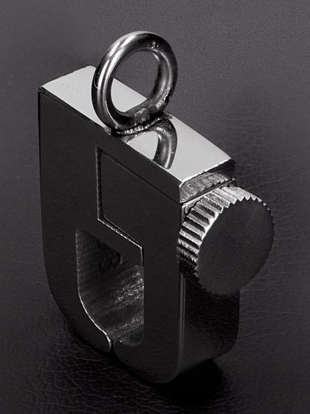 Triune Mini Shackle: Edelstahl-Magnet-Nippelclip