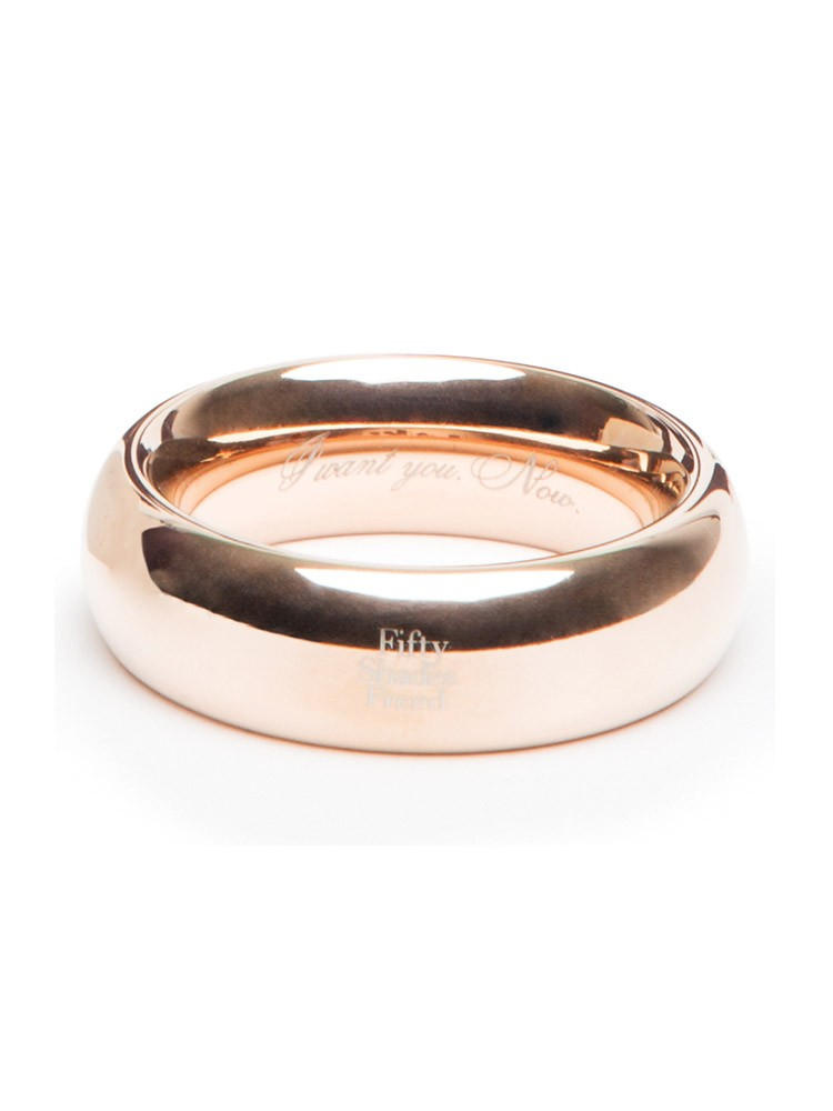 Fifty Shades of Grey: Fifty Shades Freed I Want You Now Penisring, gold