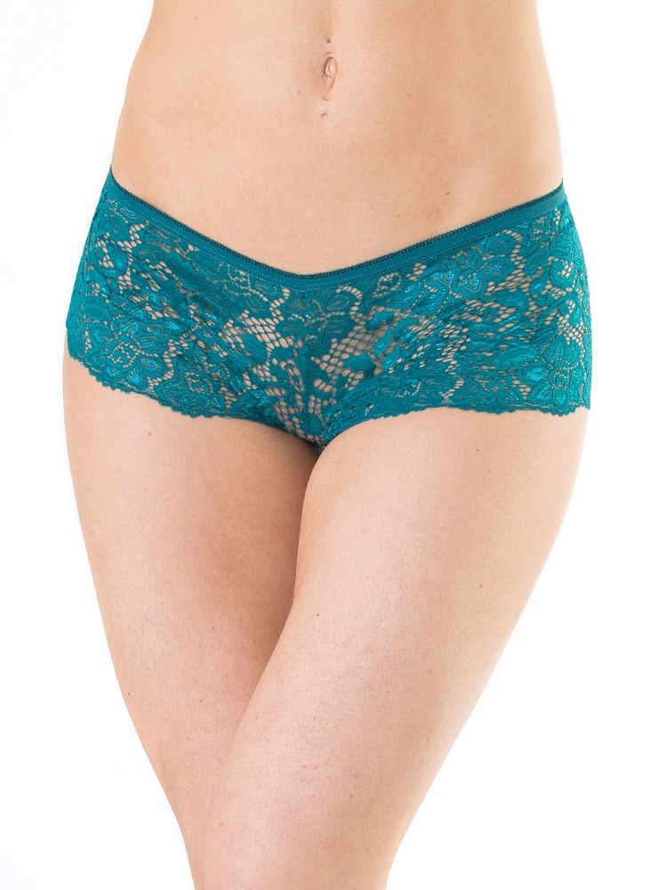 Coquette: Panty, petrol (One Size)