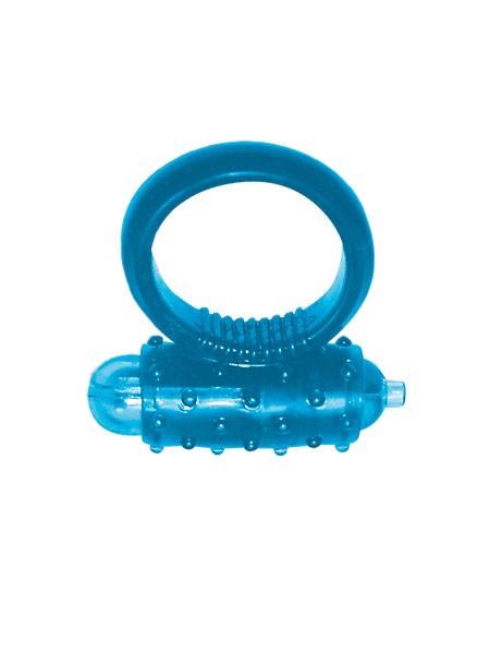 Vibro Ring: Penisring, blau