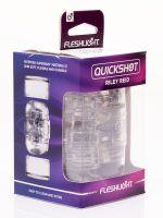 Fleshlight Quickshot Riley Reid: Masturbator, transparent