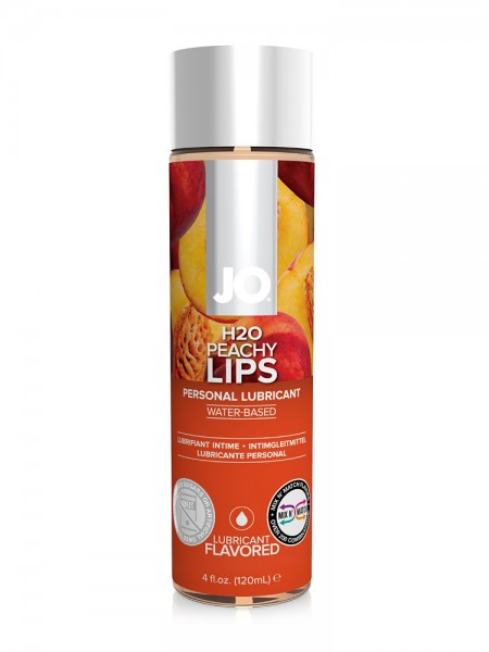 System JO H2O Peachy Lips: Gleitgel (120ml)