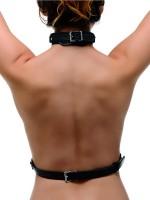 Strict Female Chest Harness: Brustharness, schwarz