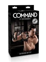 Sir Richards Command Suspension Cuff Set: Fesselset, schwarz
