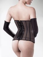 Grey Velvet 15159: Netz-Corsagen-Set 4-teilig, schwarz