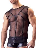 Powernet-Shirt, schwarz
