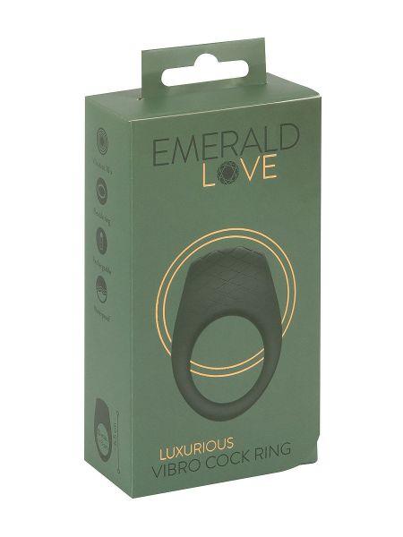 Emerald Love: Luxuriöser Penisring, grün