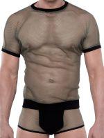 Spitzenjunge Blackline Sit: T-Shirt, khaki/schwarz