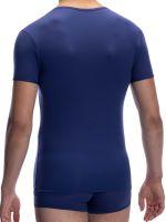Olaf Benz RED0965: Phantom V-Neck-Shirt, navy