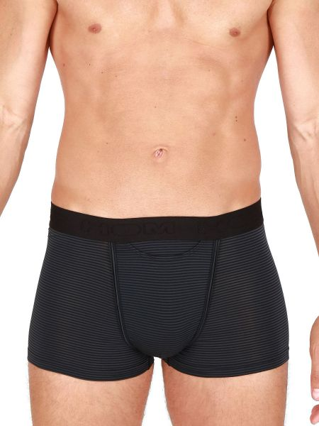 HOM Simon: Boxer Pant, schwarz
