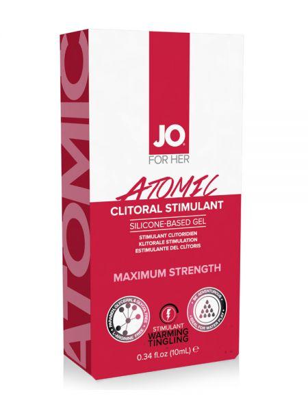 System JO Atomic Clitoral Stimulant Gel (10ml)