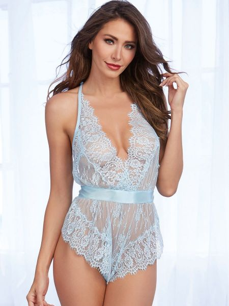 Dreamgirl Teddy, light blue