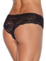 Coquette: Ouvert-Panty, schwarz