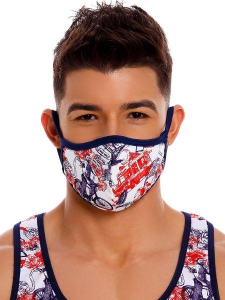 JOR James: Gesichtsmaske, printed