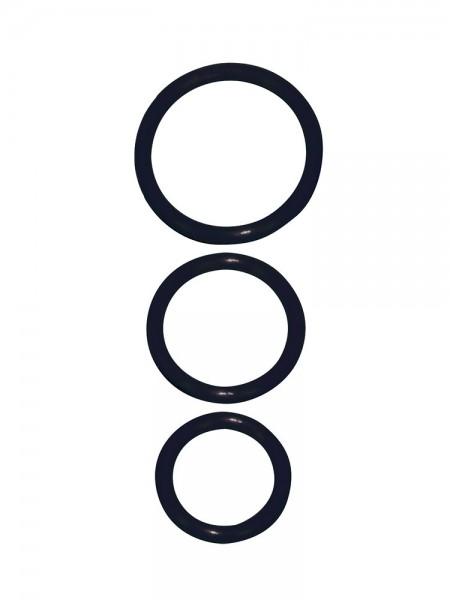 Penisring-Set, schwarz