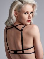 Marlies Dekkers Meringue: Padded Push-Up BH, pale peach/schwarz