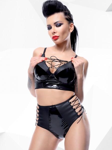 Demoniq Hard Candy BH-Set: Jessica, schwarz